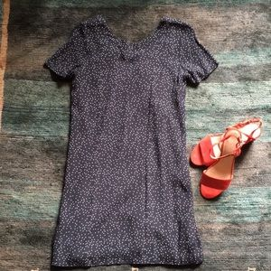 Madewell Polka Dot Mini Dress Size 2